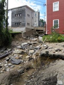 More Irene destruction