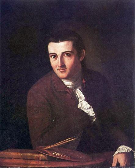 John Trumbull - Self Portrait. 1777.