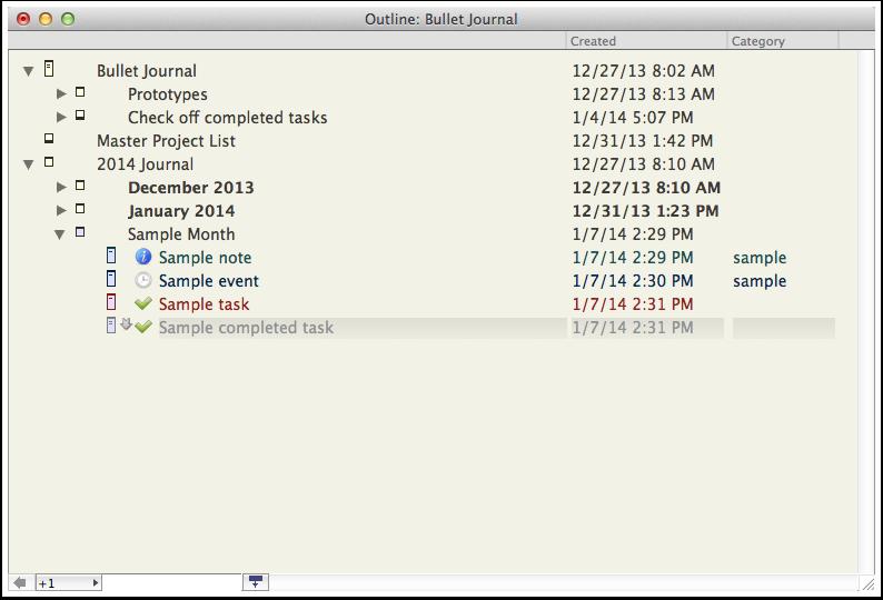 bullet journal for ipad