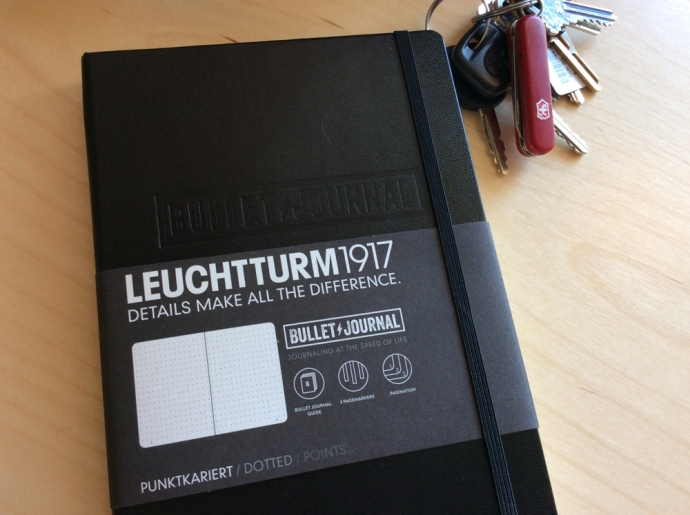 The Bullet Journal notebook is a fine quality journal from Leuchtturm1917.